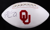 Kyler Murray Signed Oklahoma Sooners Logo Football (Beckett COA) (See Description) at PristineAuction.com