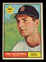Carl Yastrzemski 1961 Topps #287 at PristineAuction.com
