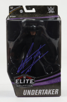 The Undertaker Signed WWE Elite Collection Action Figure (JSA COA) at PristineAuction.com