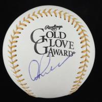 Alex Rodriguez Signed Gold Glove Award Baseball (JSA COA) at PristineAuction.com