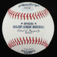 Luis Alexander Basabe Signed OML 2018 All-Star Futures Game Baseball (JSA COA) at PristineAuction.com
