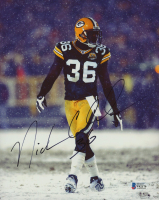Nick Collins Signed Packers 8x10 Photo (Beckett COA) at PristineAuction.com
