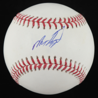 Micker Adolfo Signed OML Baseball (JSA COA) at PristineAuction.com
