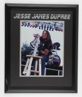 Jesse James Dupree Signed 18.5x22.5 Custom Framed Photo Display (JSA COA) (See Description) at PristineAuction.com