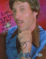 """Jon Gries Signed """"Napoleon Dynamite"""" 8x10 Photo Inscribed """"I Reckon If You Imagine Real Hard You'll See Sea Horses"""", """"Go Long!!"""", & """"Best"""" (Beckett COA) at PristineAuction.com"""