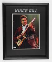 Vince Gill Signed 18.5x22.5 Custom Framed Photo Display (JSA COA) at PristineAuction.com