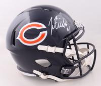 Justin Fields Signed Bears Full-Size Speed Helmet (Beckett Hologram) at PristineAuction.com