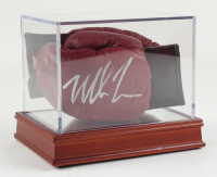Mike Tyson Signed Set Of (2) 1950's Franklin Mini Glove With High Quality Display Case (PSA COA) at PristineAuction.com