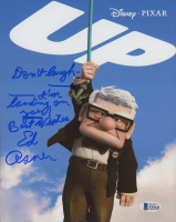 """Ed Asner Signed """"Up"""" 8x10 Photo Inscribed """"Don't Laugh I'm Landing On You"""" & """"Best Wishes"""" (Beckett COA) at PristineAuction.com"""