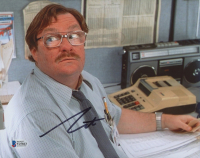 """Stephen Root Signed """"Office Space"""" 8x10 Photo (Beckett COA) at PristineAuction.com"""