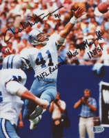 """Charlie Waters Signed Cowboys 8x10 Photo Inscribed """"NFL Record - Most Play-Off INTS-3"""" (Beckett COA) at PristineAuction.com"""
