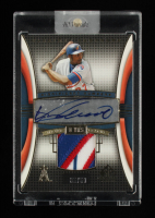 Vladimir Guerrero 2004 SP Game Used Patch Significant Numbers Autograph #VG #35/50 at PristineAuction.com
