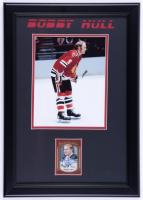 Bobby Hull Signed 14.5x20.5 Custom Framed Hockey Card Display (JSA COA) at PristineAuction.com