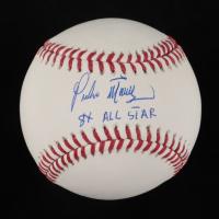 "Pedro Martinez Signed OML Baseball Inscribed ""8x All Star"" (PSA COA) at PristineAuction.com"