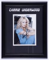 Carrie Underwood Signed 13.5x16.5 Custom Framed Photo (JSA COA) (See Description) at PristineAuction.com