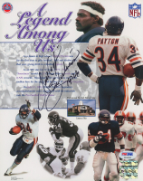 """Walter Payton Signed Bears 8x10 Photo Inscribed """"Sweetness"""" & """"16,726"""" (PSA LOA) at PristineAuction.com"""