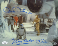 "Anthony Daniels & Kenny Baker Signed ""Star Wars"" 8x10 Photo Inscribed ""R2-D2"" & ""C-3PO"" (JSA COA & Star Wars Hologram) at PristineAuction.com"