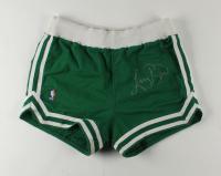 Larry Bird Signed Vintage Celtics NBA Game-Issued 1988 Basketball Shorts (PSA COA) at PristineAuction.com
