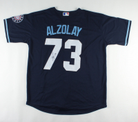 Adbert Alzolay Signed Cubs Jersey (JSA Hologram) at PristineAuction.com