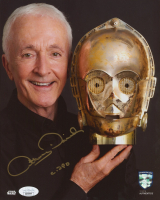 """Anthony Daniels Signed """"Star Wars"""" 8x10 Photo Inscribed """"C-3PO"""" (JSA COA & Official Pix COA) at PristineAuction.com"""