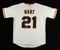Joey Bart Signed Giants Jersey (JSA Hologram) at PristineAuction.com