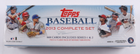 2013 Topps Complete Set of (660) Baseball Cards at PristineAuction.com