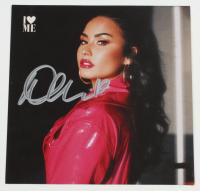 "Demi Lovato Signed ""I Love Me"" 5x5 CD Album Cover with Unopened CD (JSA COA) (See Description) at PristineAuction.com"