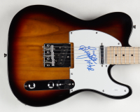 """Brian Johnson Signed 39"""" Electric Guitar Inscirbed """"AC/DC"""" (JSA COA) at PristineAuction.com"""