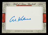 Al Kaline 2018 Leaf Hall of Fame Baseball Cut Signature Edition at PristineAuction.com