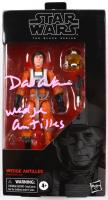 "David Ankrum Signed 2019 ""Star Wars"" The Black Series Wedge Antilles Action Figure Inscribed ""Wedge Antilles"" (JSA COA) (See Description) at PristineAuction.com"