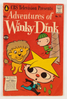 """Vintage 1957 """"Adventures of Winky Dink"""" Issue #75 Pines Comic Book (See Description) at PristineAuction.com"""