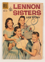 """Vintage 1958 """"The Lennon Sisters"""" Issue #951 Dell Comic Book (See Description) at PristineAuction.com"""