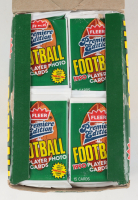 1990 Fleer Player Photo Cards Premiere Edition Football Box with (36) Packs at PristineAuction.com