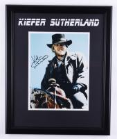 "Kiefer Sutherland Signed ""Young Guns II"" 18.5x22.5 Custom Framed Photo Display (JSA COA) (See Description) at PristineAuction.com"