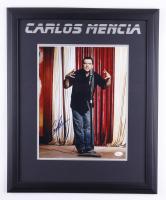 Carlos Mencia Signed 18x22 Custom Framed Photo Display (JSA COA) (See Description) at PristineAuction.com
