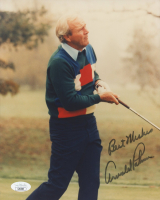 """Arnold Palmer Signed 8x10 Photo Inscribed """"Best Wishes"""" (JSA COA) (See Description) at PristineAuction.com"""