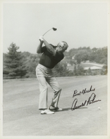 """Arnold Palmer Signed 8x10 Photo Inscribed """"Best Wishes"""" (JSA COA) at PristineAuction.com"""