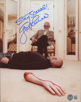 """George A. Romero Signed 8x10 Photo Inscribed """"Stay Scared!"""" (Beckett COA) at PristineAuction.com"""