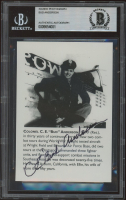 Bud Anderson Signed 3.5x5 Photo (BGS Encapsulated) at PristineAuction.com