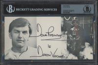 """David Prowse Signed """"Star Wars"""" 4x8 Photo Inscribed """"Is Darth Vader"""" (BGS Encapsulated) at PristineAuction.com"""