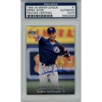 Derek Jeter Signed 1995 Upper Deck Minors #1 (PSA Encapsulated) at PristineAuction.com
