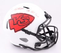 """L'Jarius Sneed Signed Chiefs Full-Size Lunar Eclipse Alternate Speed Helmet Inscribed """"The Ball Hawk"""" (JSA COA) at PristineAuction.com"""