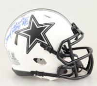 "Daryl ""Moose"" Johnston Signed Cowboys Lunar Eclipse Alternate Speed Mini Helmet (Beckett Hologram) at PristineAuction.com"