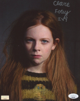 """Clare Foley Signed """"Gotham"""" 8x10 Photo Inscribed """"IVY"""" (JSA COA) at PristineAuction.com"""
