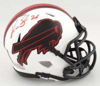 Devin Singletary Signed Bills Lunar Eclipse Alternate Speed Mini Helmet (Total Sports Enterprises COA) (See Description) at PristineAuction.com
