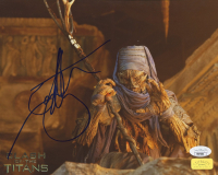 """Ian Whyte Signed """"Clash of the Titans"""" 8x10 Photo (JSA COA) at PristineAuction.com"""