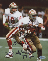 Roger Craig Signed 49ers 8x10 Photo with Multiple Stat Inscriptions (Beckett COA) at PristineAuction.com