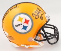 "Greg Lloyd Signed Steelers Mini Helmet Inscribed ""Avoid Lloyd"" (JSA COA) at PristineAuction.com"