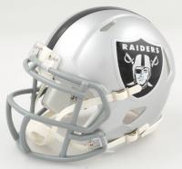 Damon Arnette Signed Raiders Speed Mini Helmet (JSA COA) at PristineAuction.com