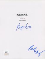 "Stephen Lang & Michelle Rodriguez Signed ""Avatar"" Script Cover (JSA COA) at PristineAuction.com"